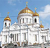 Russian Orthodox Cathedral Moscow file photo