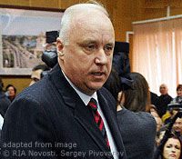 Alexandr Bastrykin file photo