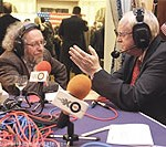 File Photo of Interview on Ekho Moskvy Radio