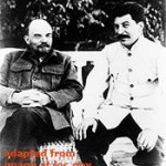 File Photo of Vladimir Lenin and Joseph Stalin