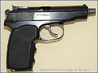 Makarov Handgun file photo