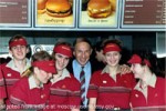 File Photo of Russian McDbnald&#039;s Crew with U.S. Diplomat