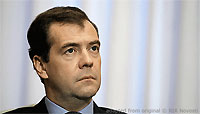 Dmitry Medvedev file photo