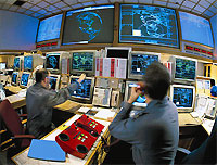 Missile Defense Control Room file photo