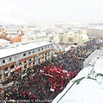 File Photo of Moscow Winter Protest