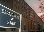 Department of State Signage and Headquarters Building File Photo