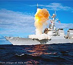 Aegis Seaborne Missile Defense Launch file photo