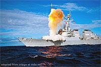 Aegis Seaborne Missile Defense Launch file photo