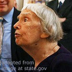 Lyudmila Alekseyeva file photo