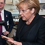 Angela Merkel file photo