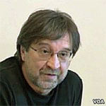 Yuri Shvchuk file photo, adapted from Voice of America image