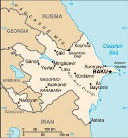 Azerbaijan South Caucasus Johnsons Russia List