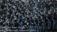 Russian Riot Police file photo
