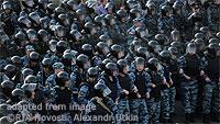 Russian Riot Police file photo