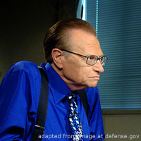 Larry King file photo