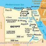 Map of Egypt and Environs`