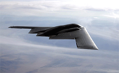 File Photo of Stealth Bomber in Flight