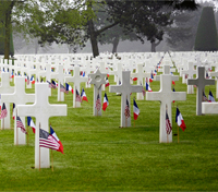D-Day Cemetery file photos