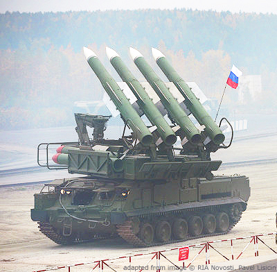 File Photo of Buk-1 SAM