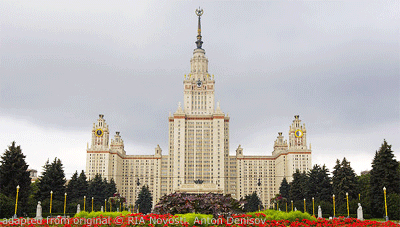 Moscow State University file photo