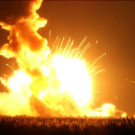 Explosion After Wallops Rocket Disaster