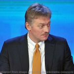 Dmitry Peskov file photo adapted from image at kremlin.ru/wikimedia commons