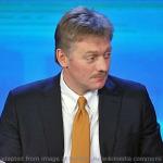Dmitry Peskov file photo adapted from image at kremlin.ru/wikimedia commons