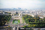 Paris, France, View from Eiffel Tower