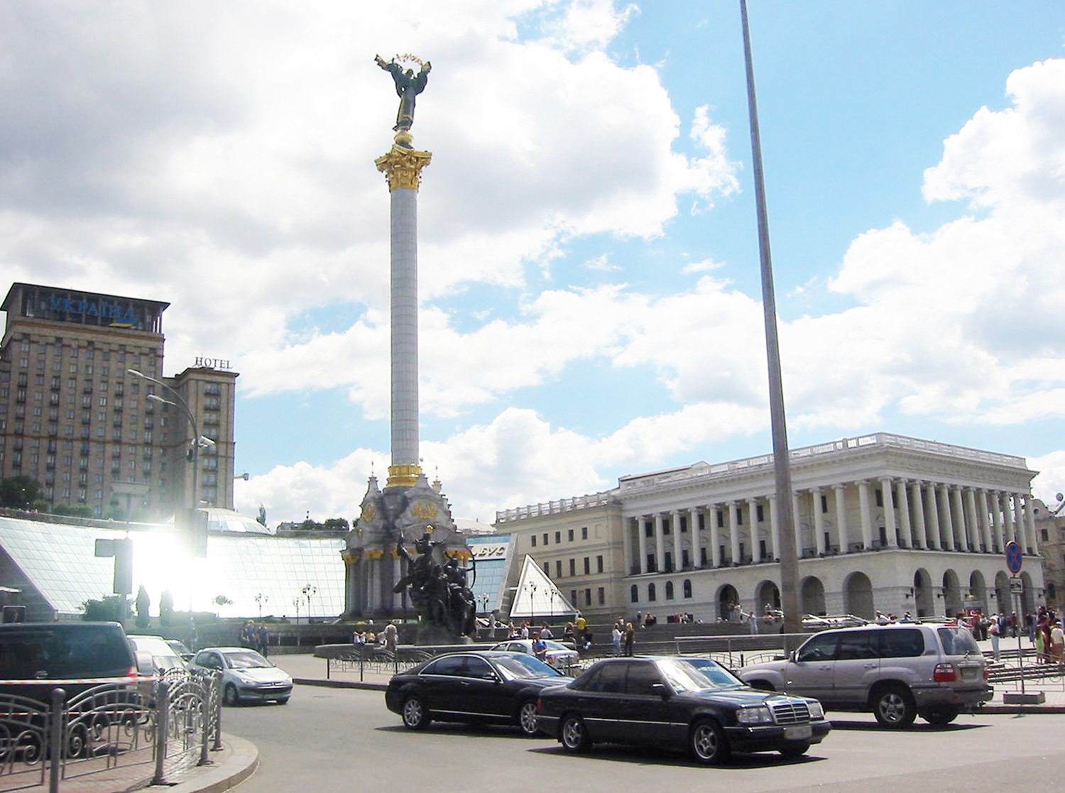 Maidan Square in Kiev, Ukraine
