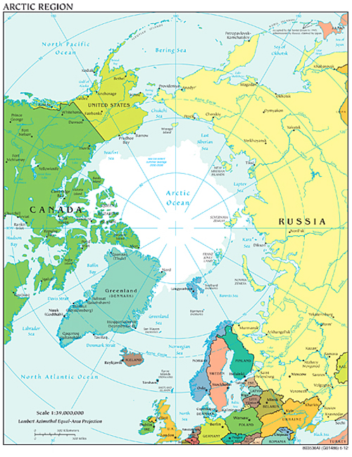 The Kremlins Arctic Plans More Gutted Than Grand Johnsons - The crew us map