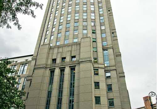 U.S. Courthouse for Southern District of New York in Manhattan
