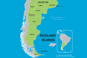 South America and Falkland Islands