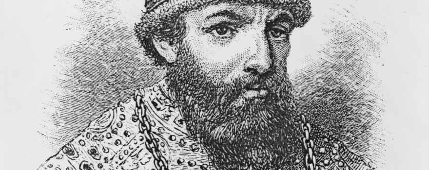 File Image of Ivan the Terrible Etching, adapted from image at loc.gov