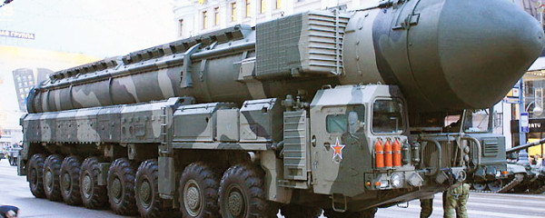 Russian Mobile ICBM Parade File Photo