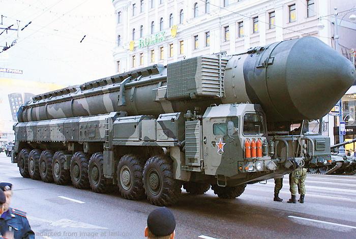 Russian Mobile ICBM Parade File Photo