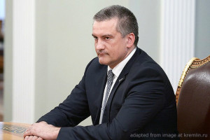 Sergei Aksyonov file photo, adapted from image at kremlin.ru