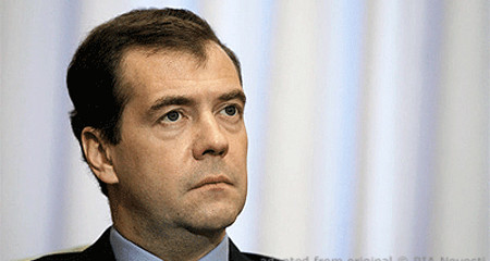 Dmitri Medvedev file photo