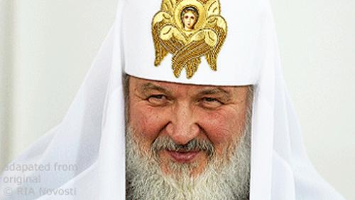 Patriarch Kirill file photo