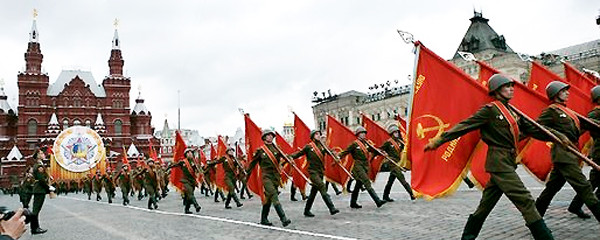 File Photo of Parade in Red Square from 2005