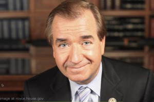 Ed Royce file photo