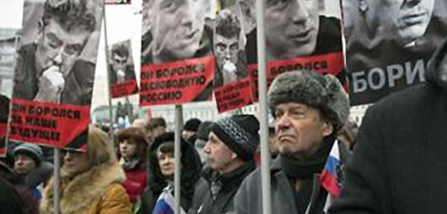 Nemtsov March of Mourning