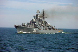 Russian Naval Vessel file photo