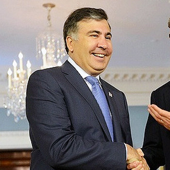 Mikheil Saakashvili file photo