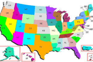 Polls Johnsons Russia List - Us states map polls