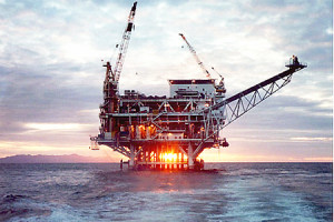 Offshore Oil Rig file photo