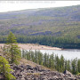 Siberian River, Forest, Mountain