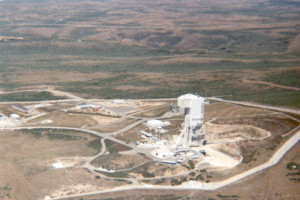 Aerial File Photo of Launch Site
