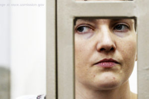Nadiya Savchenko file photo, adapted from image at osce.usmission.gov