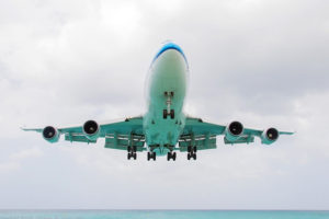 File Photo of Boeing 747, adapted from image at navy.mil