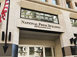 National Press Club Facade file photo